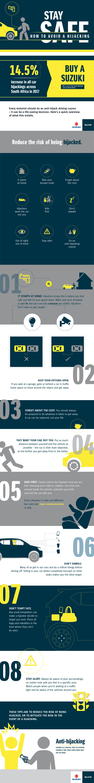 Anti hijacking tips Infographic