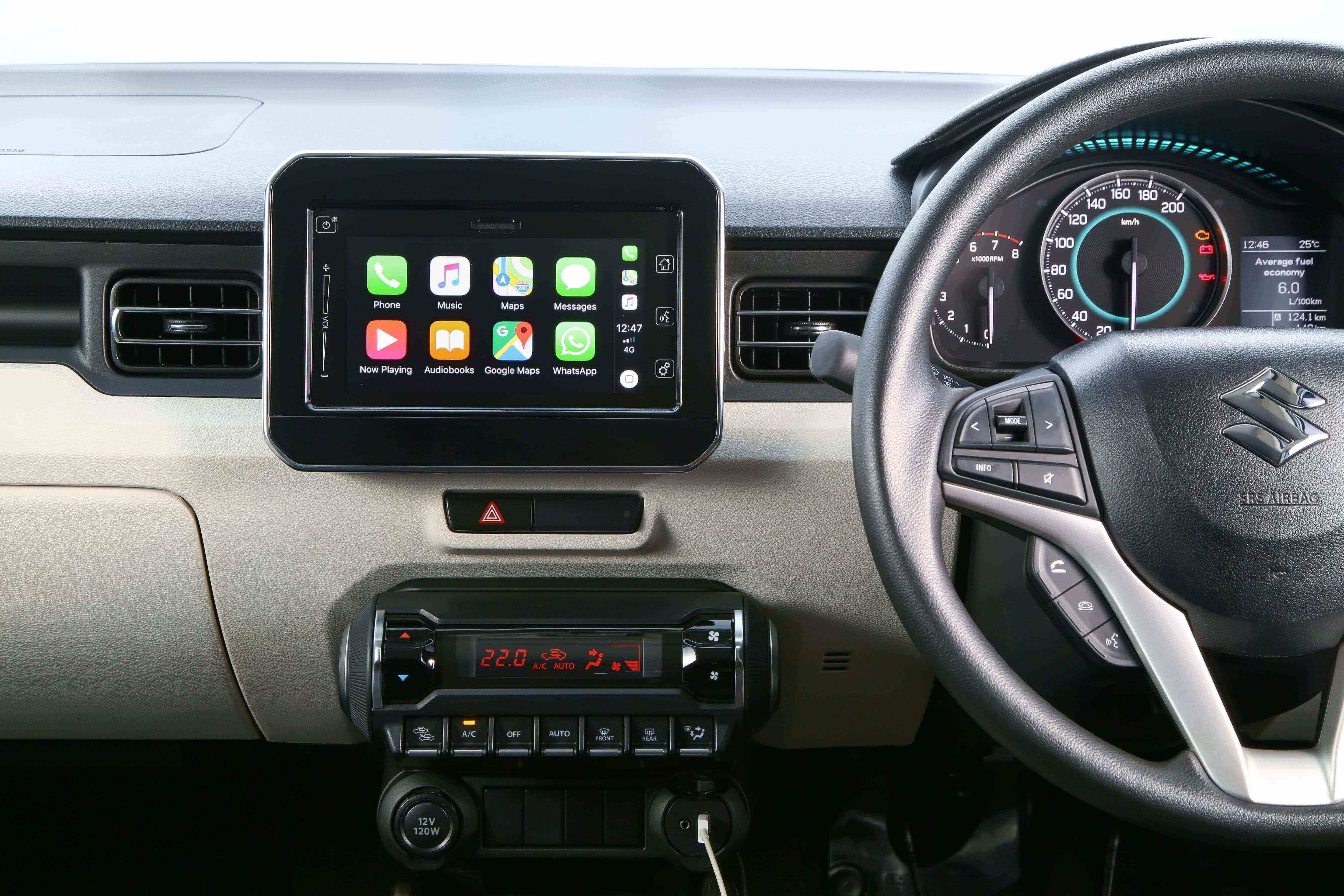 The updated infotainment makes driving and tech a little easier