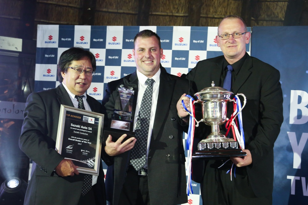 Centurion is Suzuki's Dealer of the Year
