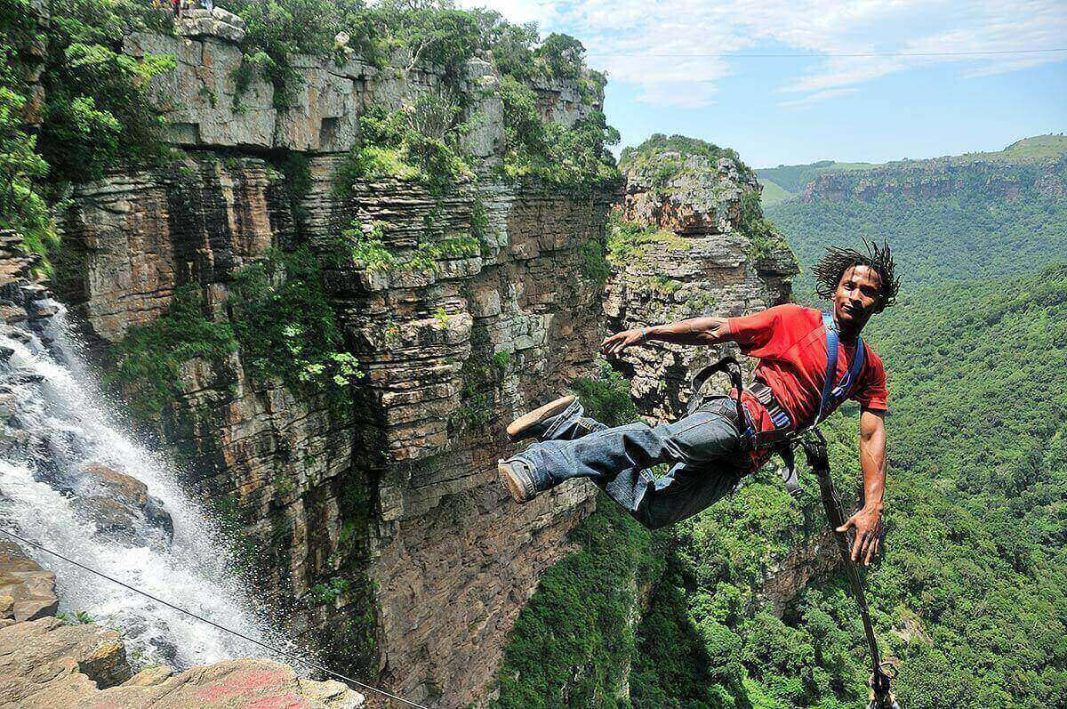 The wild swing at Oribi Gorge | epic road trip