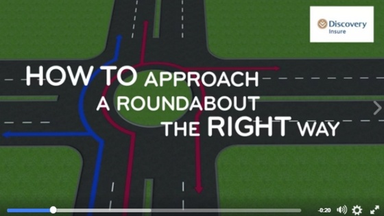 How to drive in a traffic circle