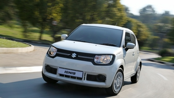 Watch the Suzuki Ignis take to the road