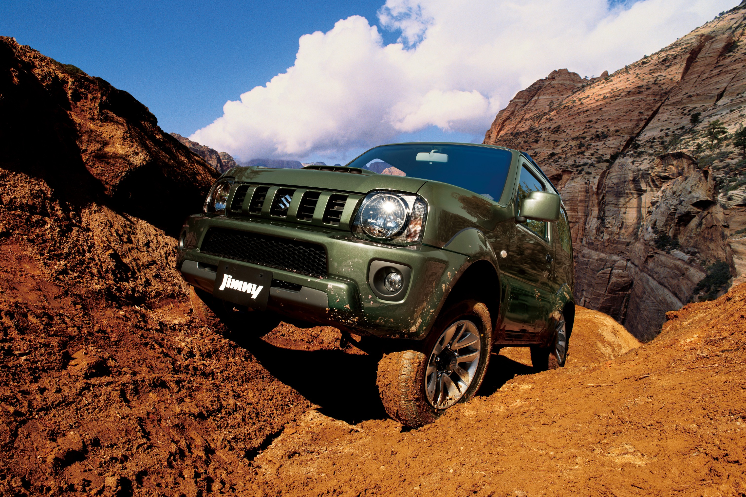 Suzuki Auto South Africa | Jimny driving off road