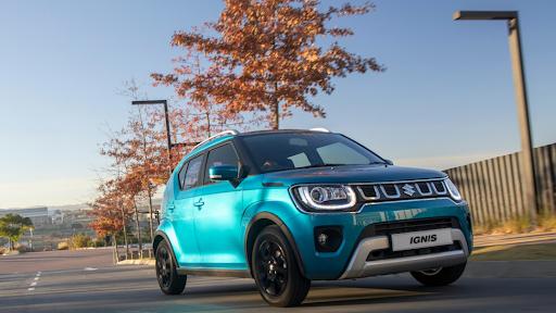 Blue Suzuki Ignis