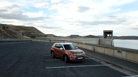 the Suzuki Viatara at Gariep Dam