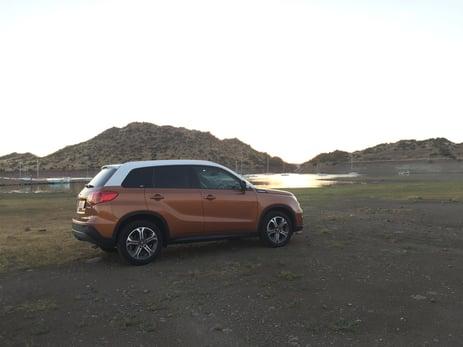 Suzuki Viatara was taken on a holiday road trip to Cape Town 7s