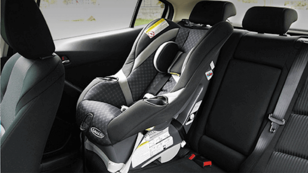 Car seat for safe driving with kids