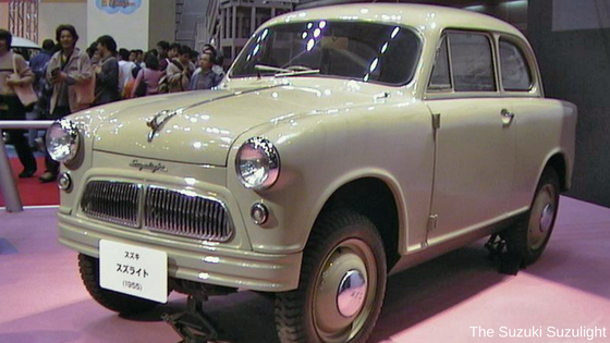 The Suzuki Suzulight and the design philosophy of small cars by Suzuki