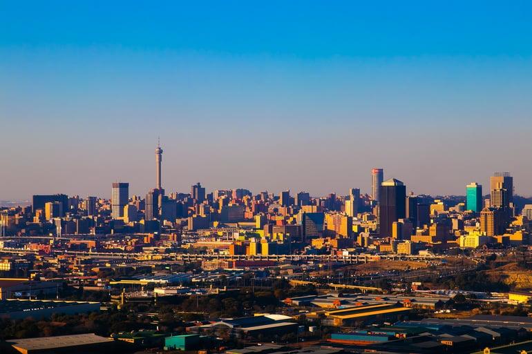 Navigating the Johannesburg roads