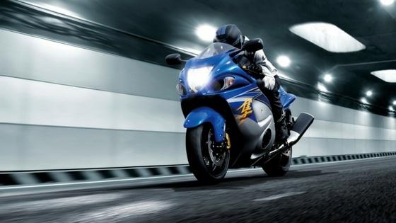 A race car with a Suzuki motorbike engine