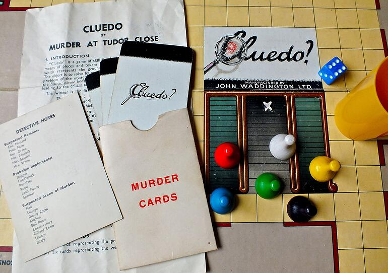 Cluedo | Road trip games (for teens and adults)