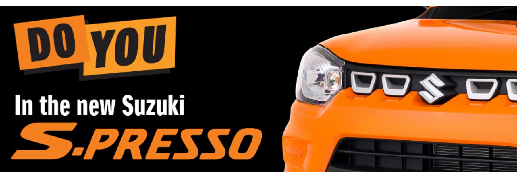 S-Presso - the new SUV-inspired Suzuki