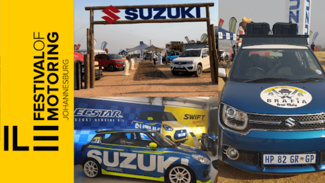 Suzuki hosts test drives and driving experiences at the 2019 SA Festival of Motoring
