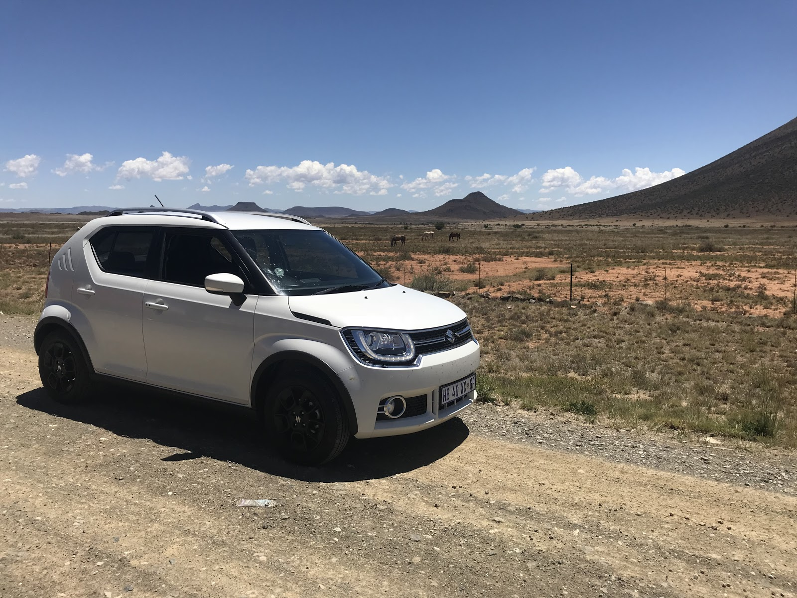 Suzuki Ignis on the road