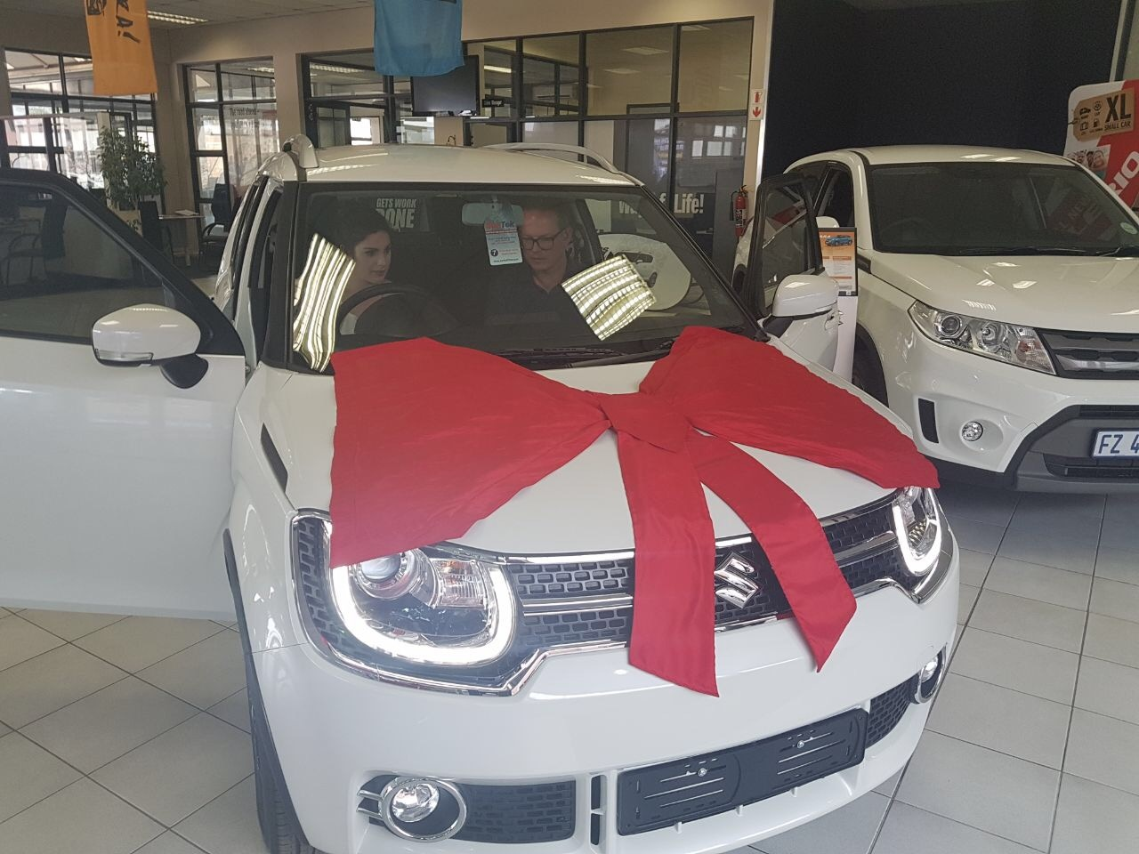 Suzuki Ignis at the dealership