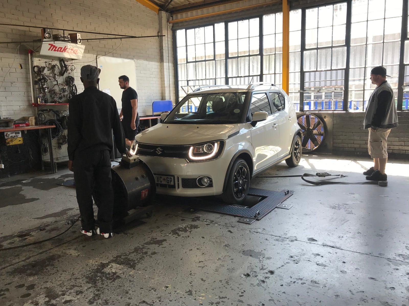 Suzuki Ignis maintenance