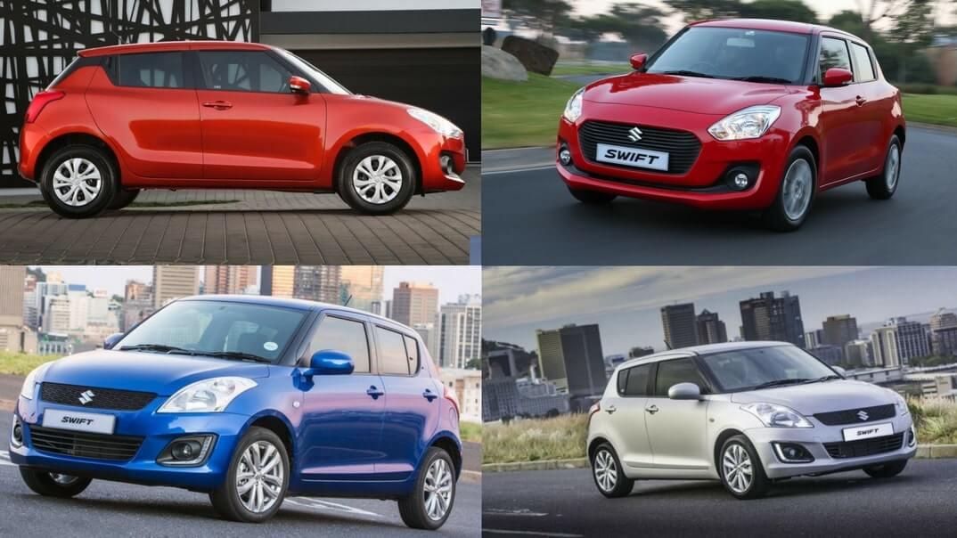 The all new Suzuki Swift