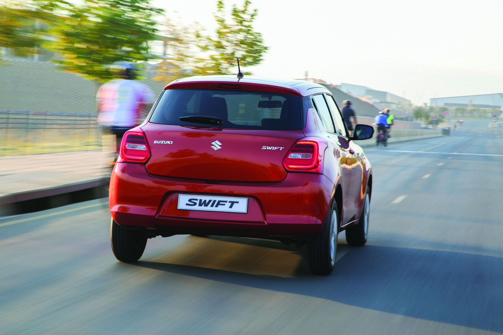 Feels good driving the all new swift