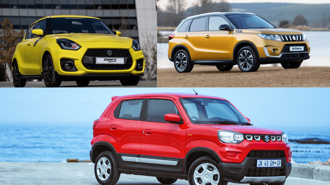 Swift Sport, Vitara and S-Presso