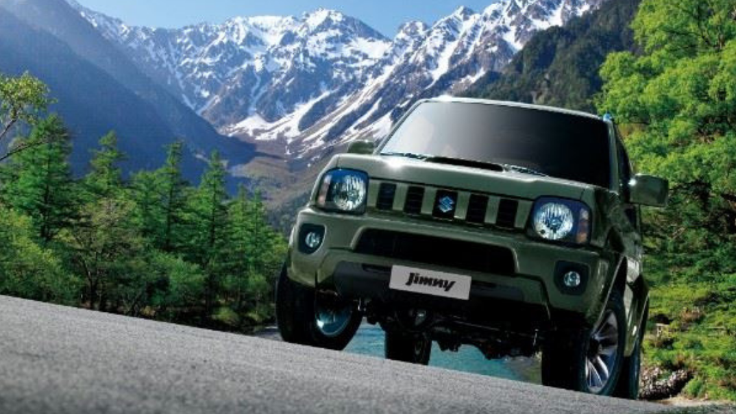 Great moments deserve a great Suzuki Jimny