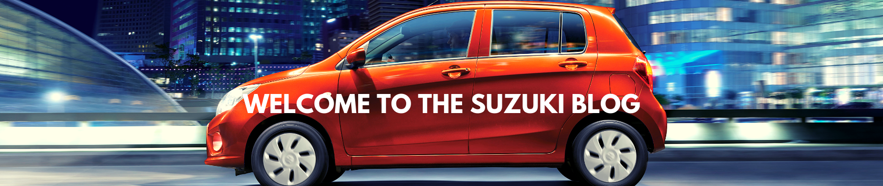 WELCOME TO THE SUZUKI BLOG