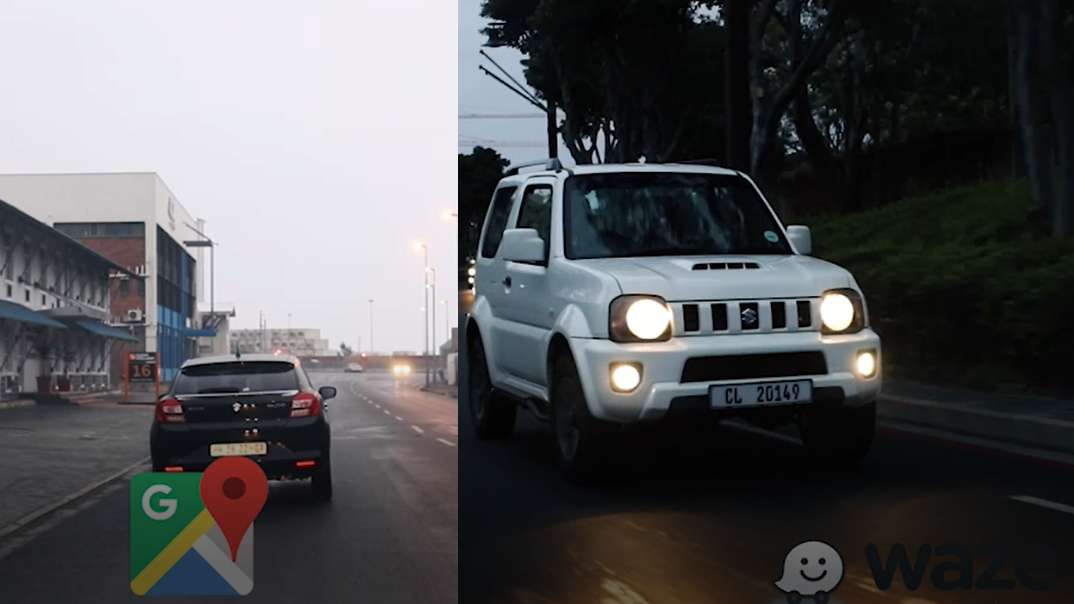 Waze vs google maps on Suzuki South Africa Blog