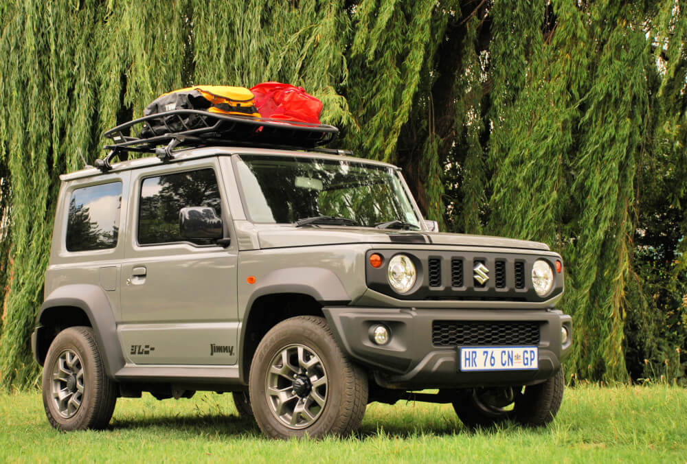 Thule Gives The Jimny More Room To Manoeuvre