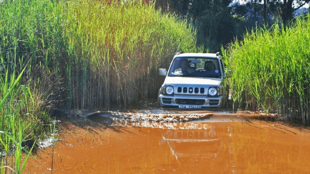 Off-road series with Alan Pepper: how to drive in deep water
