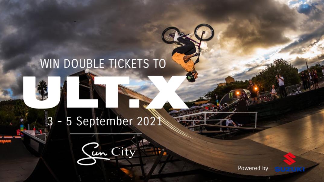 Action, adventure and open air! Suzuki sponsors Ult.X