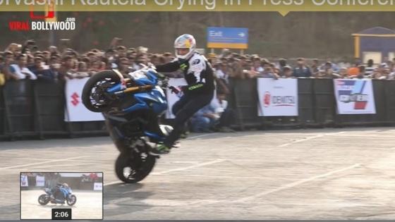 [video] Some incredibly dangerous bike stunts