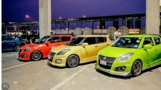 Some pretty sick Suzuki Swift colours