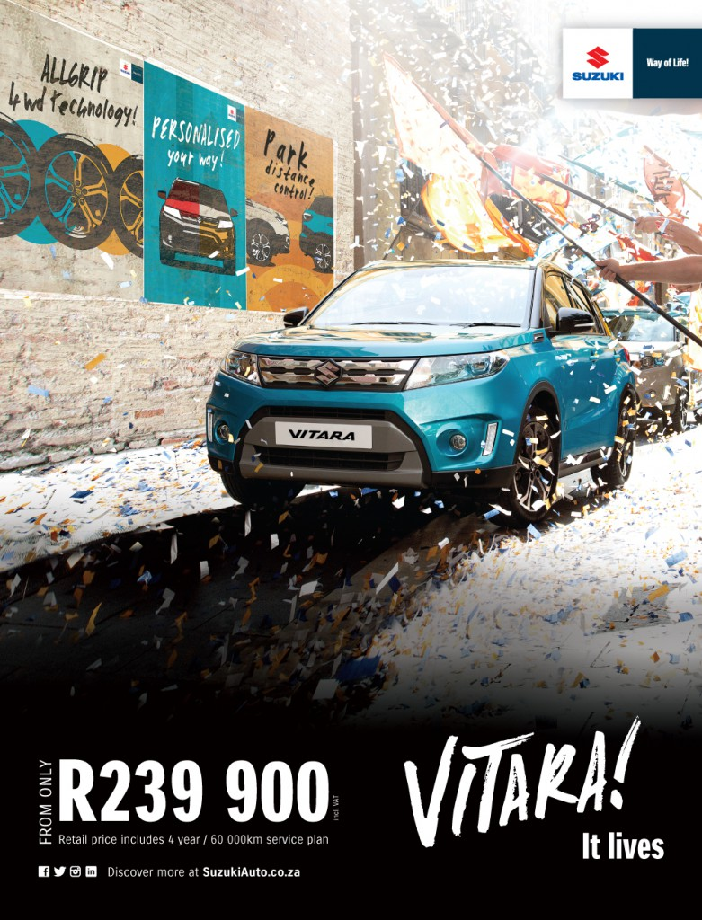 The new Vitara, personalised your way.