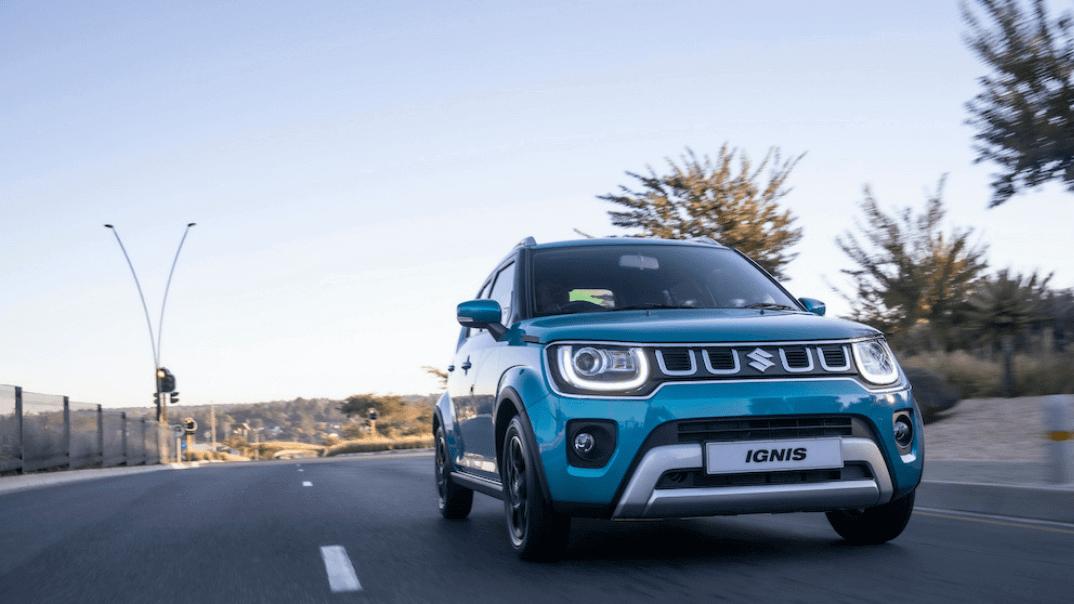 Suzuki Ignis driving