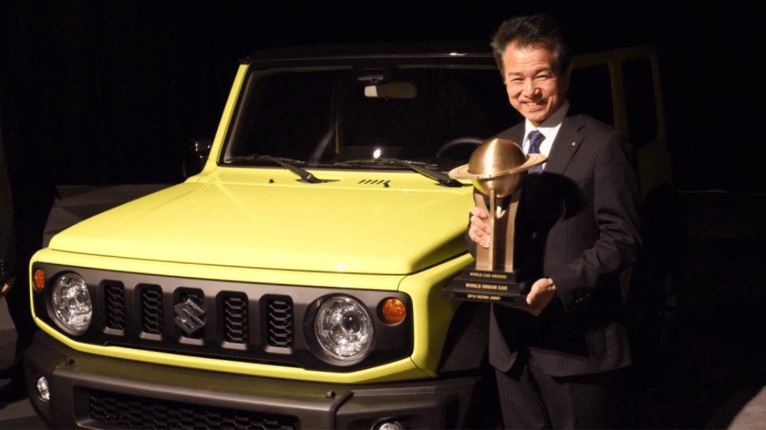 Jimny takes World Urban Car of the Year Award