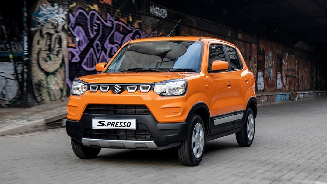 S-Presso introduces urban SUV style to the entry-level market
