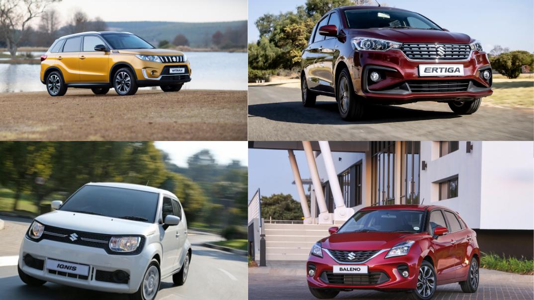 Suzuki cars as sports stars