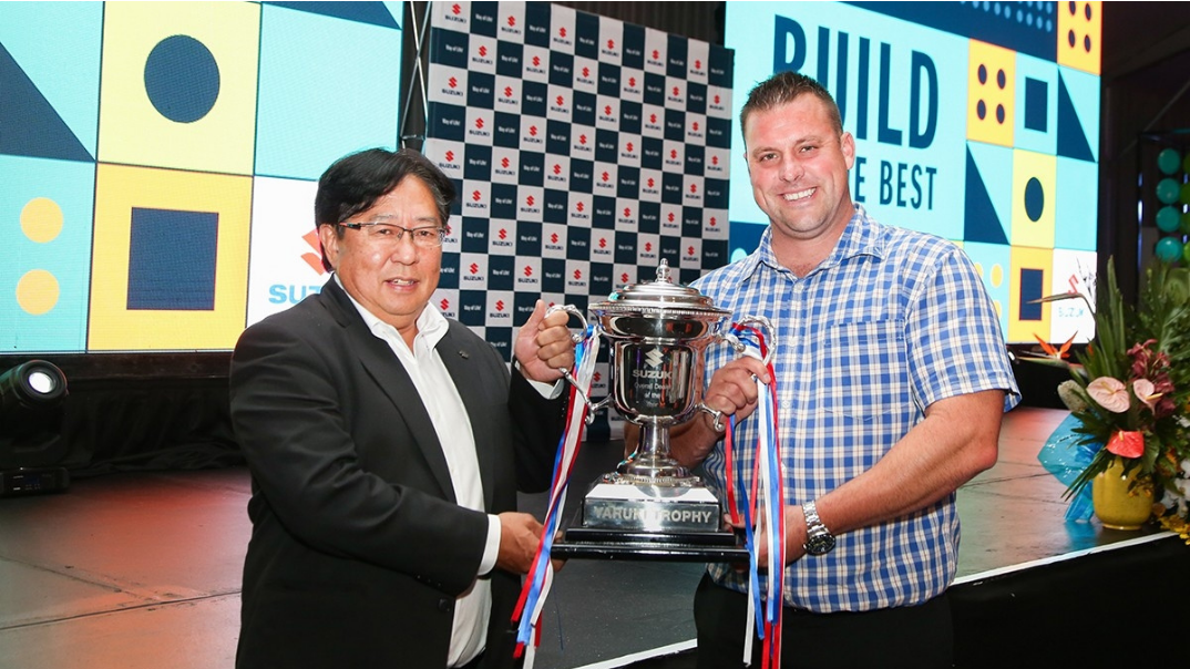 Suzuki Centurion takes top award in a hotly contested Dealer of the year 2019/20 Awards