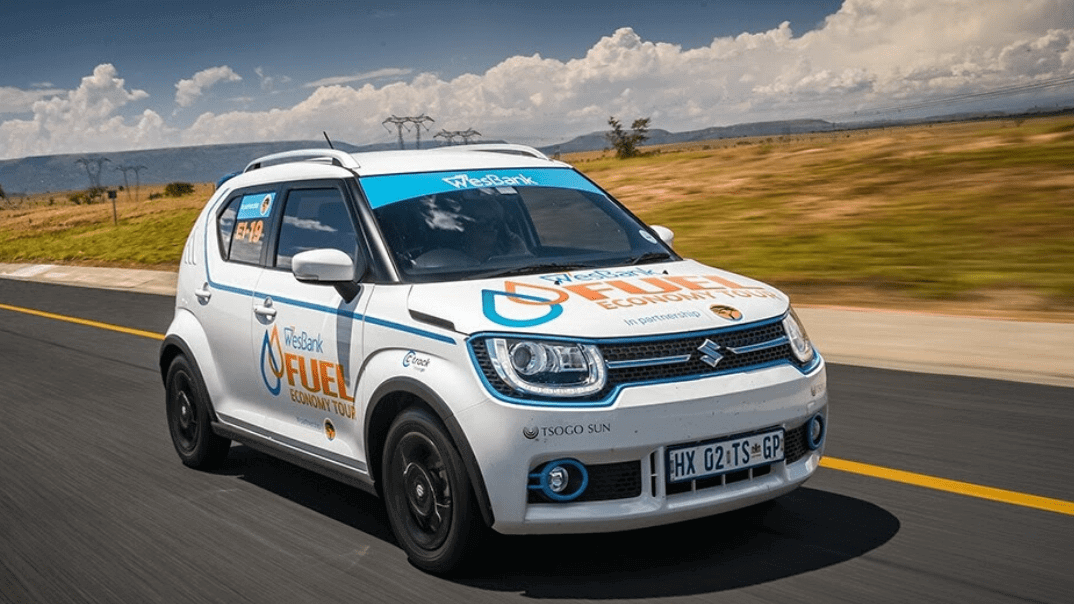 Suzuki shines in SA Fuel Economy Tour