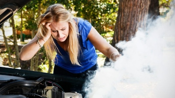 What to do if your car overheats [infographic]